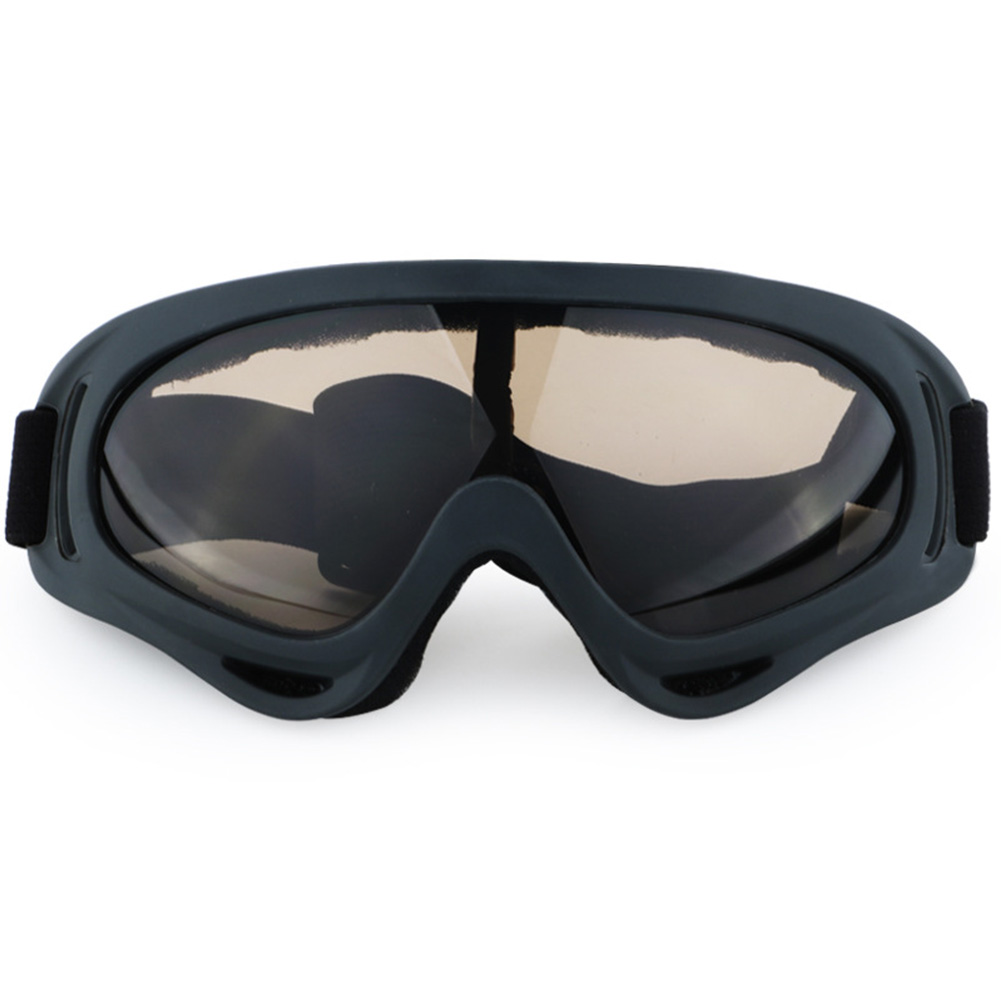 Unisex Ski Goggles Snowboard Goggles Eye Protection, Wind Resistance, Anti-Glare Lenses Colour:Black Frames Brown Lens by