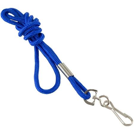 - SICURIX, BAU68903, Standard Rope Lanyard, 1 Each, Blue