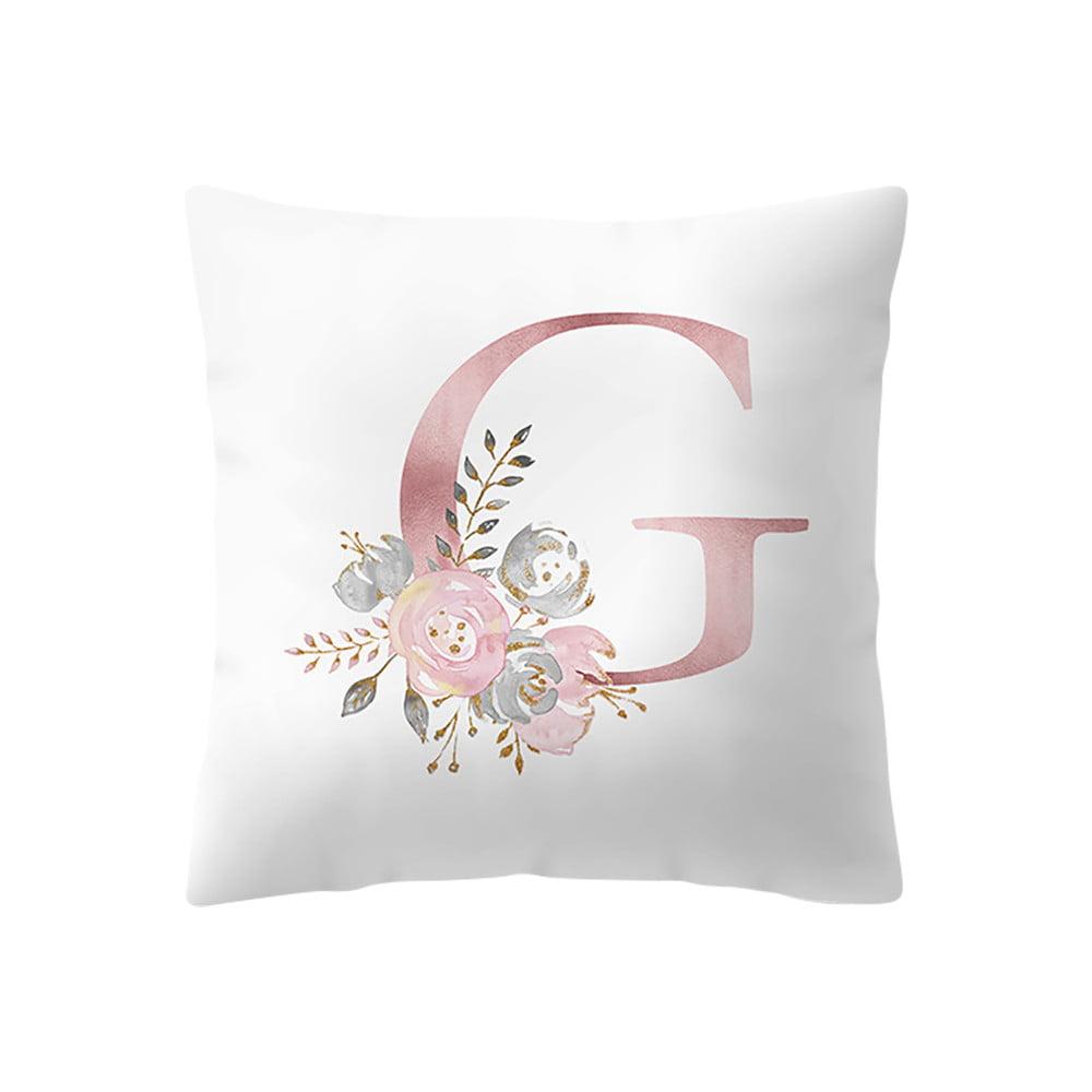 45x45 cm kinder zimmer dekoration brief kissen englisch alphabet pillowcases - Dekoration englisch ...