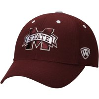Mississippi State Bulldogs Top of the World Dynasty Memory Fit Fitted Hat - Maroon