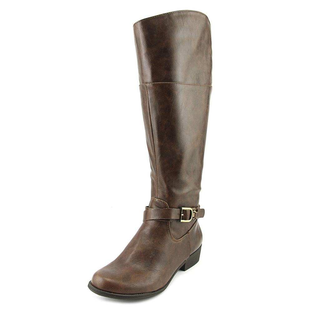 Naturalsoul by Naturalizer Variant Wide Calf Women Brown Knee High Boot by NaturalSoul by Naturalizer