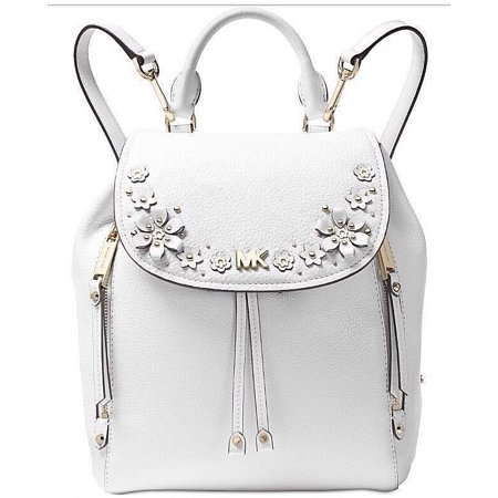 310655591d998d MICHAEL/MICHAEL KORS (USA) INC - Michael Kors Evie Small Backpack Optic  WhiteGold - Walmart.com