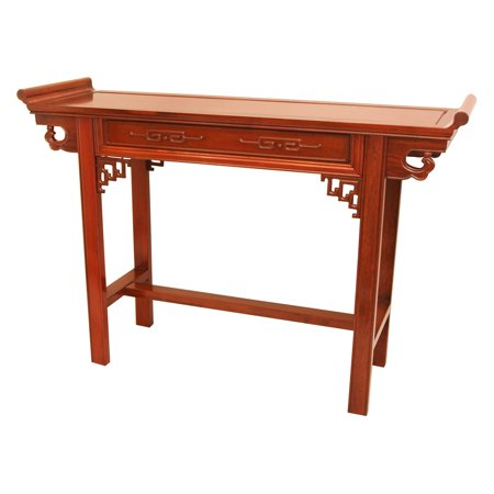 Rosewood Furniture - Rosewood Qing Hall Table, Honey