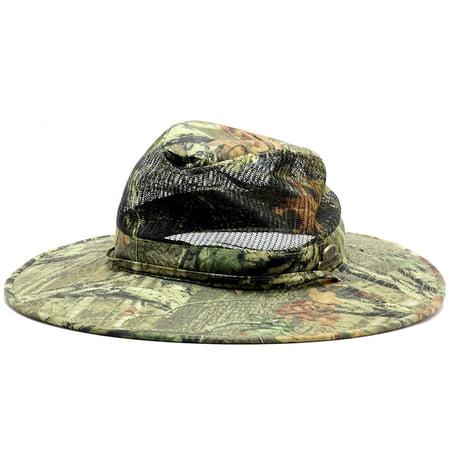 4eea0a1f168f7d Dorfman Pacific Mossy Oak Break-Up Infinity Mesh Safari Hat Sz. M -  Walmart.com