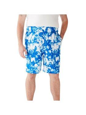 Ks Island Men's Big & Tall Ks Island Printed Swim Trunks