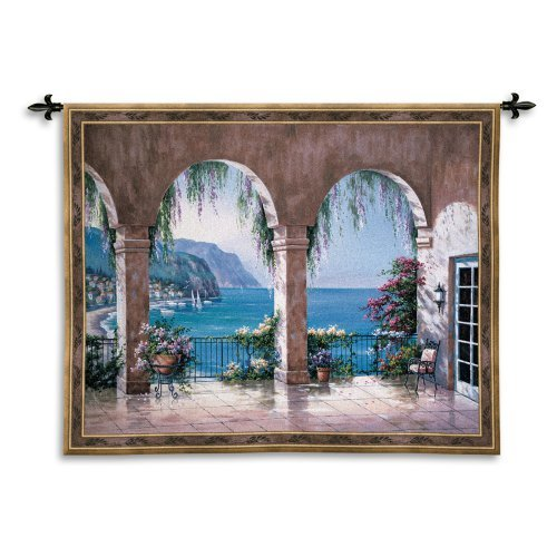 Mediterranean Arch Wall Tapestry