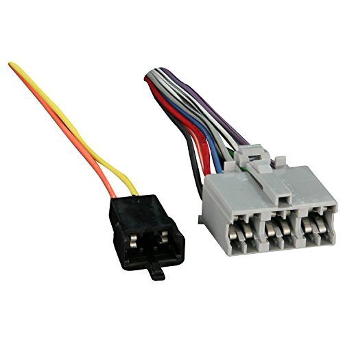 metra 71 1677 1 1 wiring harness for 1978 1990 gm vehicles 12 pin factory radio