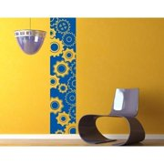Style and Apply Gears Wall Decal