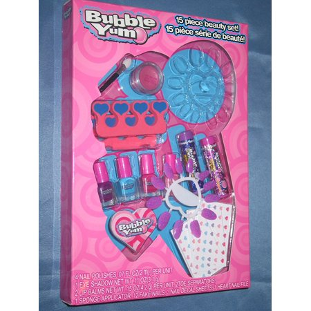 Bubble Yum 15 Piece Beauty Set by, BEAUTY SET By Lotta Luv