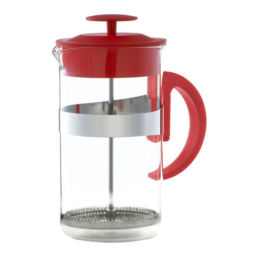 Grosche Caf  Au Lait 33.81 Oz. French Press & Milk Frother Coffee Set