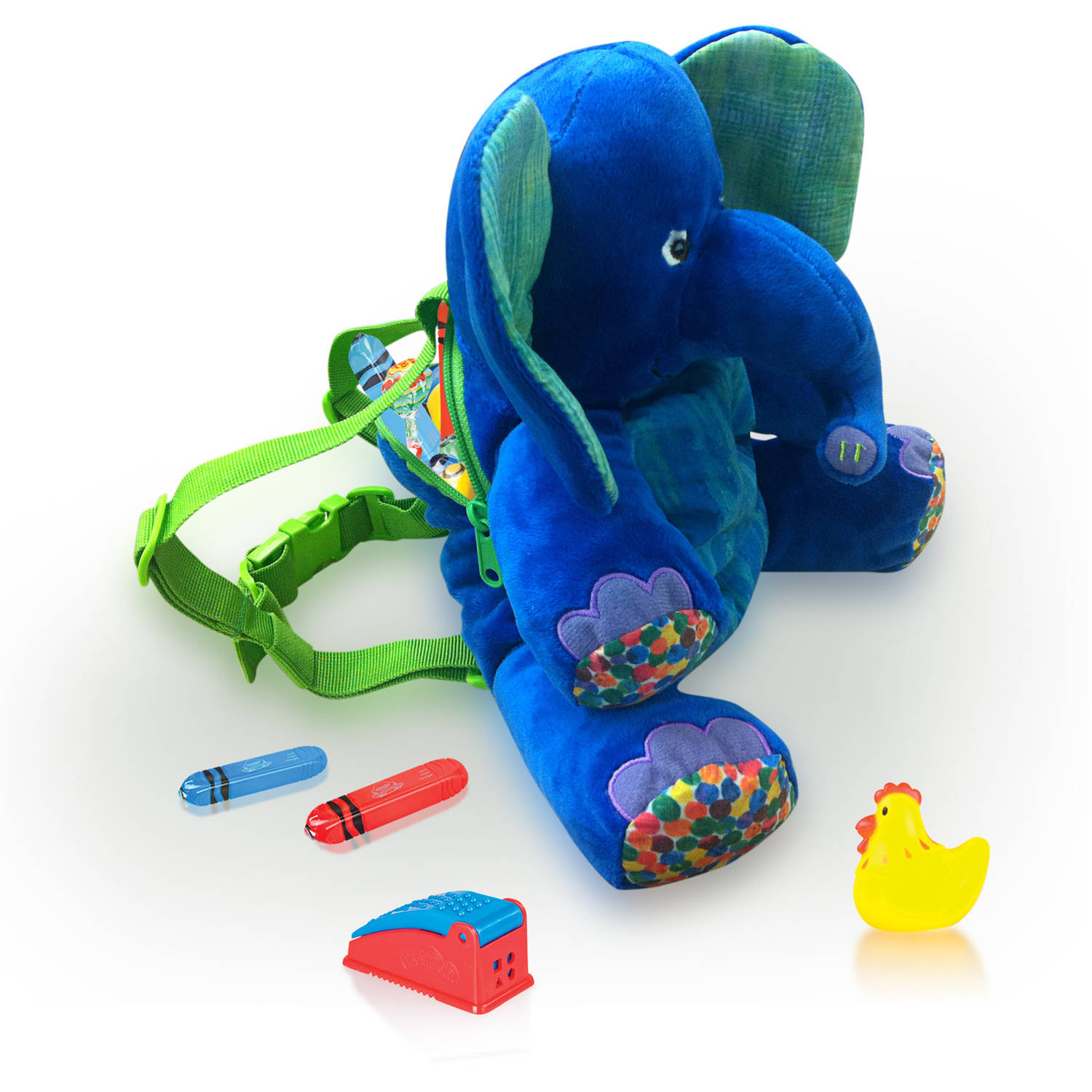 Eric Carle 2-in-1 Backpack Harness, Elephant by HIS Juveniles