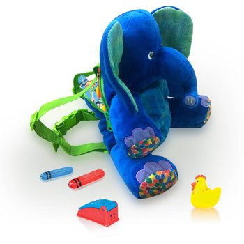 Eric Carle 2-in-1 Elephant Backpack