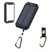 500000mAh Waterproof Dual USB Portable Solar Battery Charger Solar Power Bank US