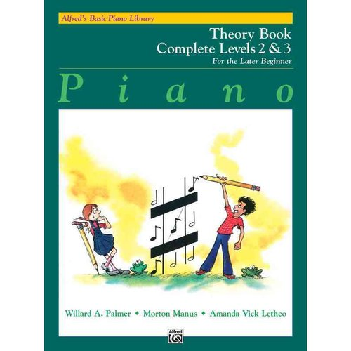 Piano Theory Book Complete Levels 2 & 3: For the Later Beginner