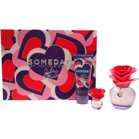 Justin Bieber Someday For Women Gift Set  3 Pc