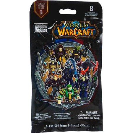 Mega Bloks World of Warcraft Series 1 Minifigure Mystery Pack