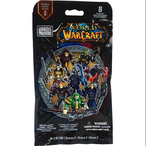Mega Bloks World of Warcraft Series 1 Minifigure Mystery Pack