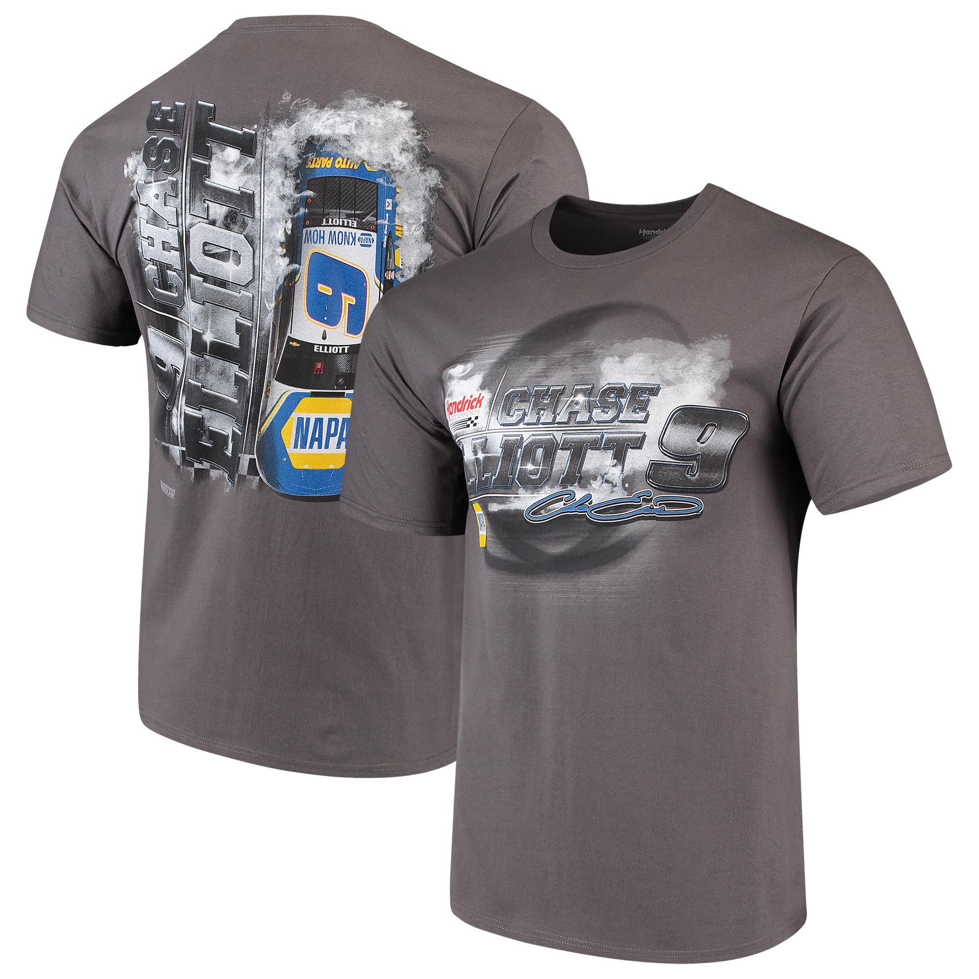innovative design 3da75 333d1 Chase Elliott Steel Thunder Logo T-Shirt - Charcoal