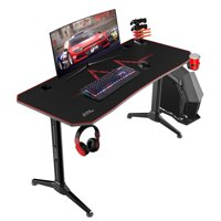 Deals on Walnew 55 Inch Y-Shape Frame Gaming Desk