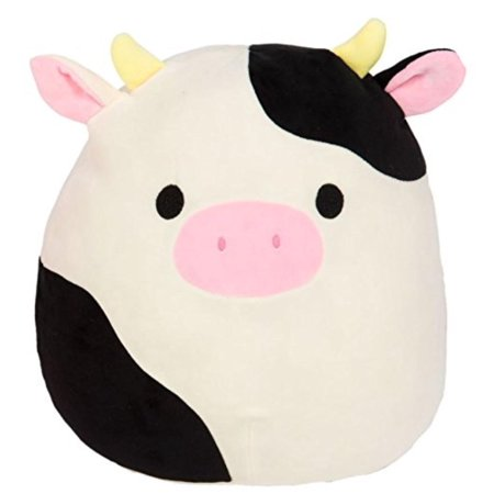 "13"" Connor The Cow Plush, Item measures 13 Inches of Lovable Cuddly Fun By SQUISHMALLOW"