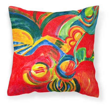 carolines treasures christmas holly berries abstract decorative outdoor pillow - Christmas Outdoor Pillows