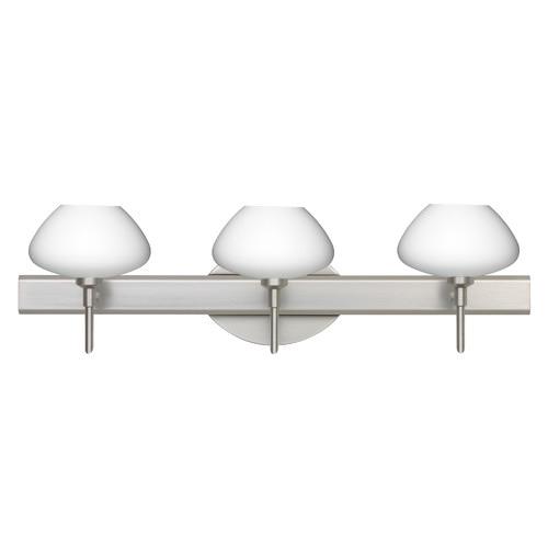 Besa Lighting 3SW-541007 Peri 3 Light Reversible Halogen Bathroom Vanity Light w