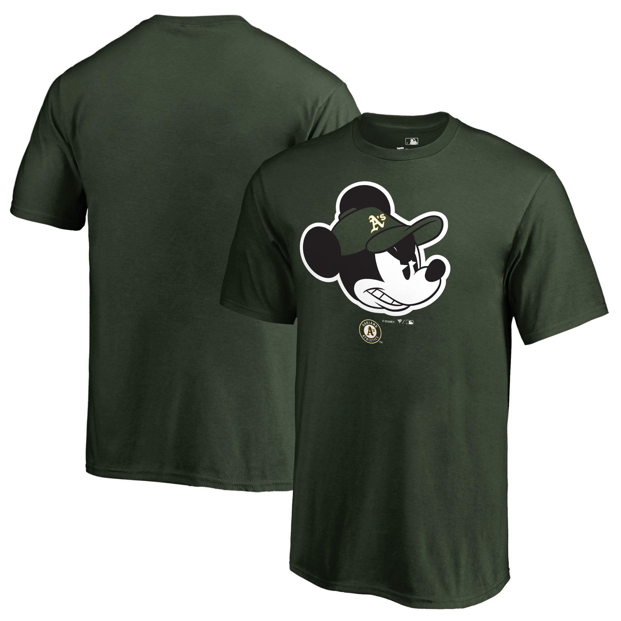Oakland Athletics Fanatics Branded Youth Disney Game Face T-Shirt - Green