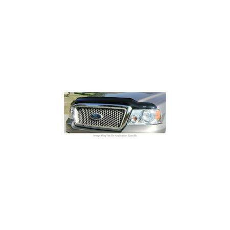 - Stampede 2042-2 Bug Shield For Chevrolet Silverado 1500, Acrylic Smoke