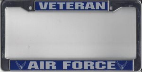 Chrome License Plate Frame Proud To Be An Air Traffic Controller Auto Accessory