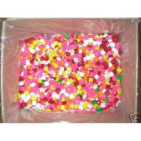 3LB ASSORTED 1000 CHICLE CHICLET CHICKLET GUM VENDING MACHINE BULK GUMBALL CANDY (Small Gumball Machine)