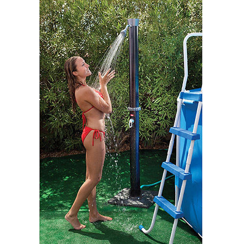 GAME Outdoor Solar Shower with Base