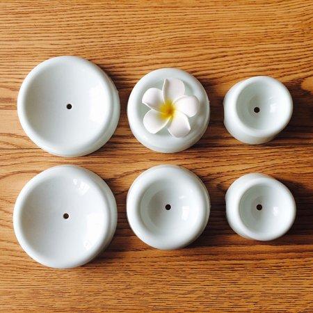 6pcs Cake Flower Drying Mold 3D Buttons Shape Cake Flower Decoration - Button Mold