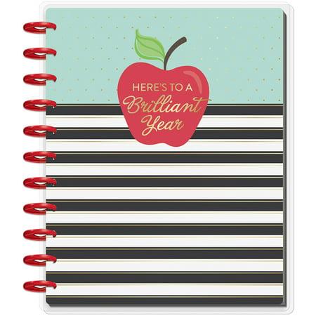 The Happy Planner Teacher Planner, Apple, August 2019-July 2020