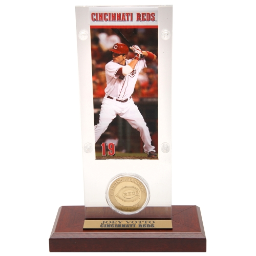 Joey Votto Cincinnati Reds Highland Mint Acrylic Player Ticket with Minted Coin - No Size