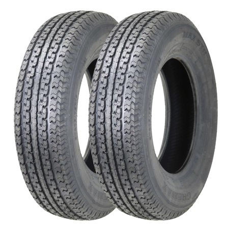 Set Of 2 New Heavy Duty Trailer Tires St 205 75r14 8pr Walmart Com