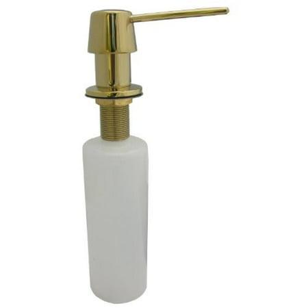 Polished Brass Soap or Lotion Dispenser #31420 ()