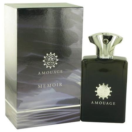 Memoir Eau De Parfum Spray for Men 3.4 oz