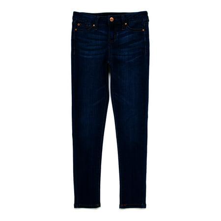 Celebrity Pink Girls 5 Pocket Skinny Jeans, Sizes 7-16