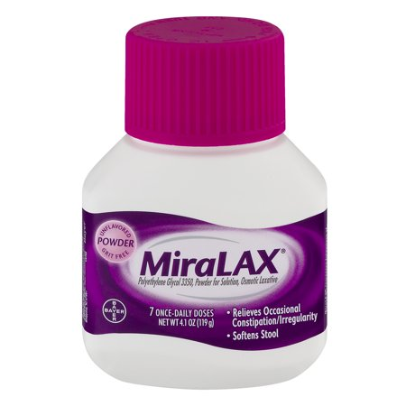 Stool Softener For 12 Year Old Miralax Laxative Unflavored
