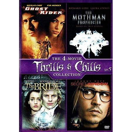 Halloween Ghost Ride Games (The Bride / Ghost Rider / The Mothman Prophecies / Secret Window)