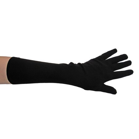 SeasonsTrading Black Costume Gloves (Elbow Length) - Prom, Dance, Party](Promo Costumes)