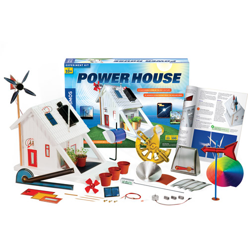 Thames & Kosmos Power House (V 2.0) Science Experiment Kit by Thames & Kosmos