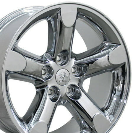 OE Wheels 20 Inch Fits Chrysler Aspen Dodge Dakota Durango Ram 1500 RAM 1500 Style DG56 Chrome 20x9 Rim Hollander (Dodge Dakota Wheel)