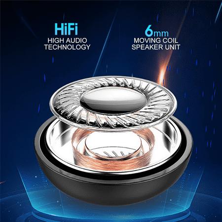 Wireless Bluetooth Stereo Headphone. Bluetooth V5.0 Earbud. Waterproof Sports Headset (Single+USB charging) - image 11 de 13