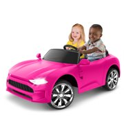 GT Coupe Ride-On Toy by Kid Trax, Pink, powered