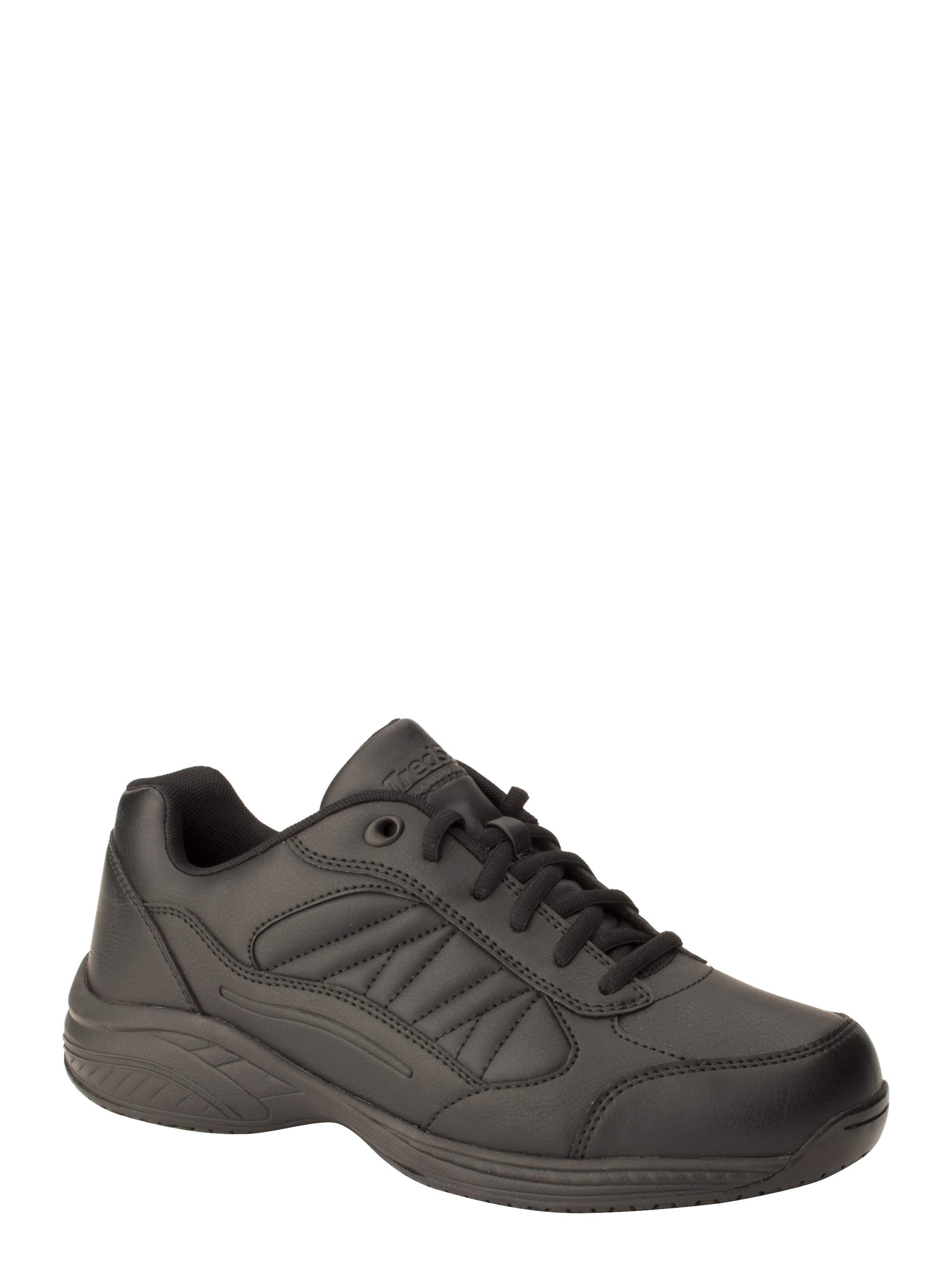 Tredsafe Men's Mario Slip-Resistant Athletic Shoe, Wide Width by GERNERIC