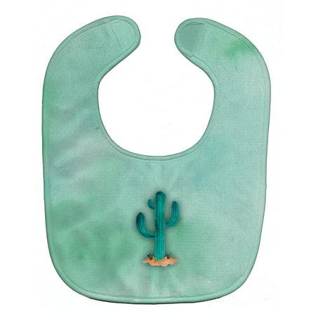 Western Bay - Western Cactus Watercolor Baby Bib