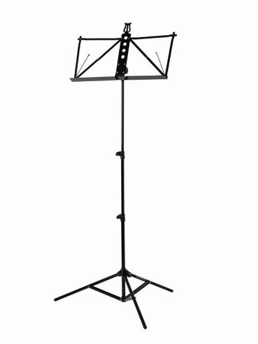 Strukture S3MS-BK Deluxe Aluminum Music Stand W adjustable by Strukture