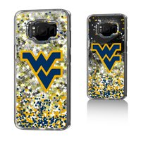 WVU West Virginia Mountaineers Confetti Glitter Case for Galaxy S8