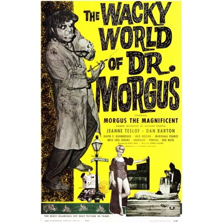 The Wacky World Of Dr  Morgus  1962  11X17 Movie Poster
